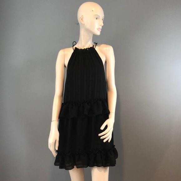 NSR Dresses & Skirts - NWOT NSR Sleeveless Short Black Dress Sz Sm